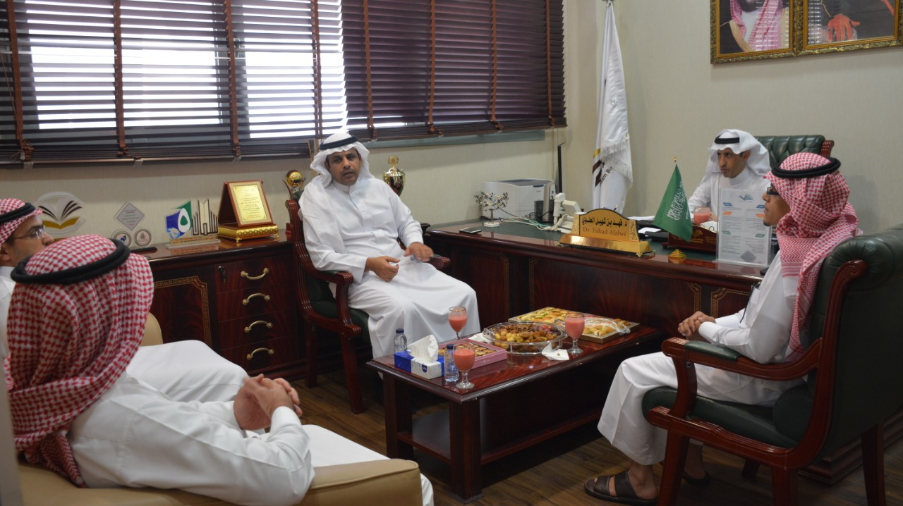 The Dean of the Preparatory Year Deanship meet the Assistant Director of Al-Kharj Education for Educational Affairs